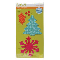 Accuquilt GO! Fabric Holiday Medley Cutting Die (Pack of Six)