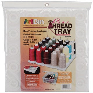 ArtBin Super Satchel Translucent Thread Tray (12.5 x 12.5 x 6)