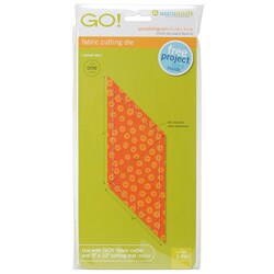 Accuquilt GO! Fabric Parallelogram Cutting Die