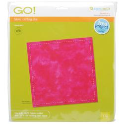 Accuquilt GO! Fabric Square 6.5-inch Cutting Die