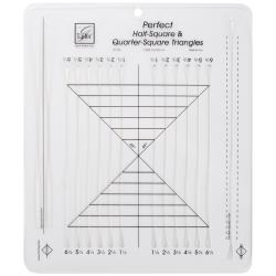 June Tailor Perfect Half-square & Quarter-square Triangles Ruler