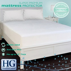 HealthGuard Bed Protector Super Premium California King-size Mattress Protector