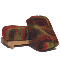 Softwater Soapworks Patchouli Felted Soap Bar