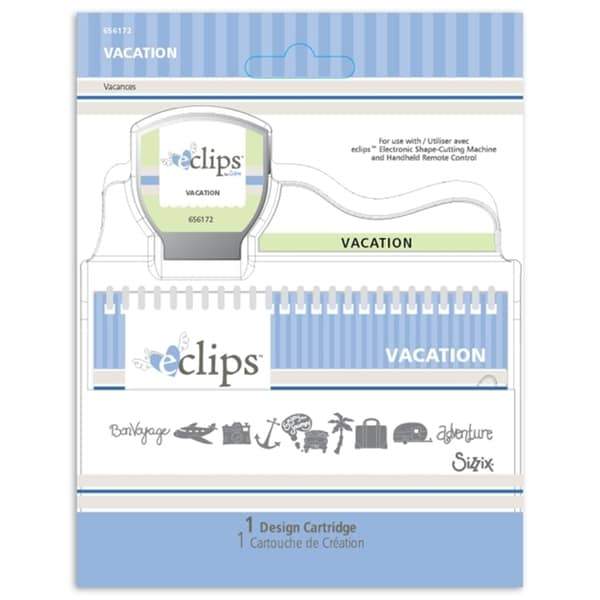 Sizzix Eclips Vacation Cartridge