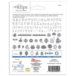 Sizzix eclips 'Happi Shapes & Alpha' Cartridge - byDenaDesigns