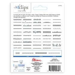 Sizzix Eclips Edges Cartridge