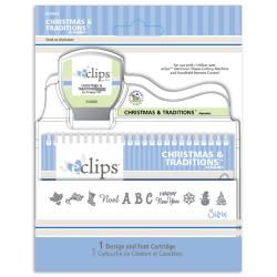 Sizzix Eclips Christmas and Traditons Cartridge