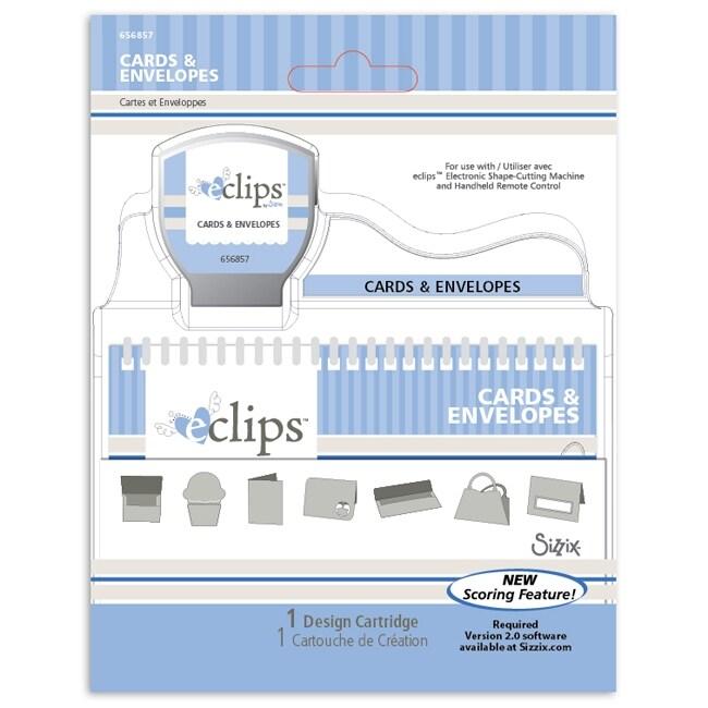 Sizzix eclips Cartridge - Cards & Envelopes