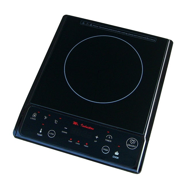Sunpentown Black 1300-watt Induction Cooktop