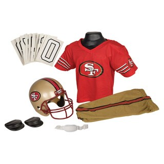 Franklin Sports NFL San Francisco 49ers Youth Uniform Set