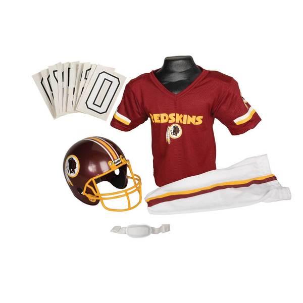 Franklin Sports NFL Washington Redskins Youth Uniform Set