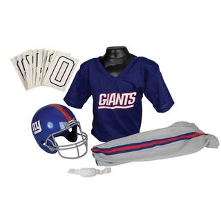 Franklin Sports NFL New York Giants Youth Uniform Set