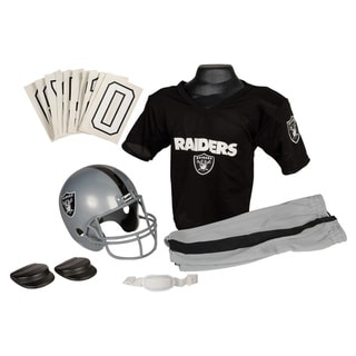 Franklin Sports NFL Oakland Raiders Youth Uniform Set