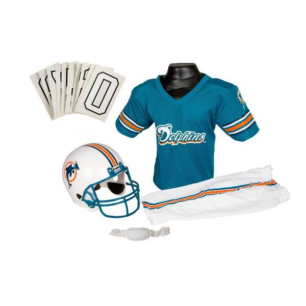 Franklin Sports NFL Miami Dolphins Youth Uniform Set 8361439