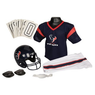 Franklin Sports NFL Houston Texans Youth Uniform Set