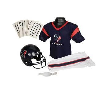 Franklin Sports NFL Houston Texans Youth Uniform Set
