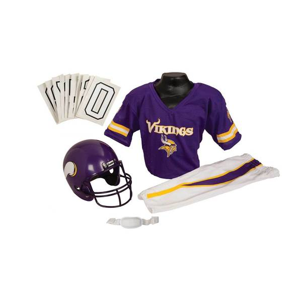 Franklin Sports NFL Minnesota Vikings Youth Uniform Set