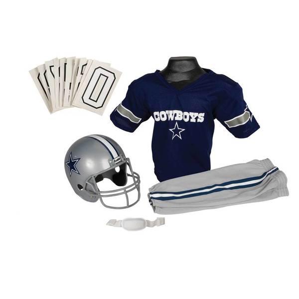 Franklin Sports NFL Dallas Cowboys Youth Uniform Set