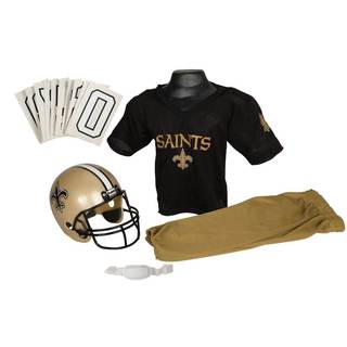 Franklin Sports NFL New Orleans Saints Youth Uniform Set