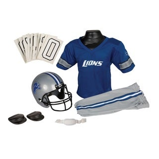Franklin Sports NFL Detroit Lions Youth Uniform Set