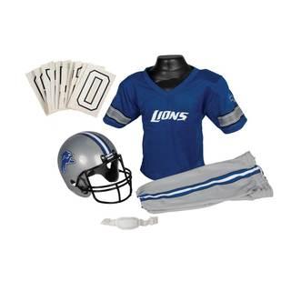 Franklin Sports NFL Detroit Lions Youth Uniform Set