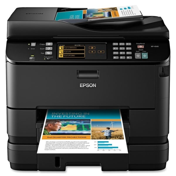 Epson WorkForce Pro WP-4540 Inkjet Multifunction Printer - Color - Pl
