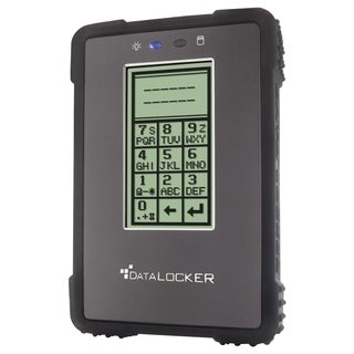 "DataLocker Enterprise DL500E2 500 GB 2.5"" Encrypted External Hard Dri"