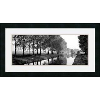 Basque Canal' Framed Art Print
