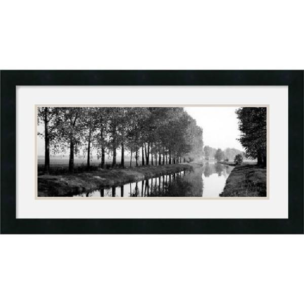 Basque Canal' Framed Art Print