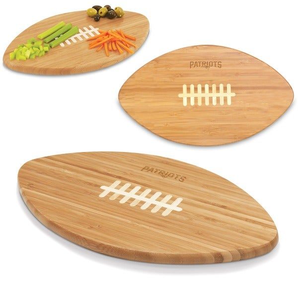 Picnic Time New England Patriots Touchdown Pro! Cutting Board