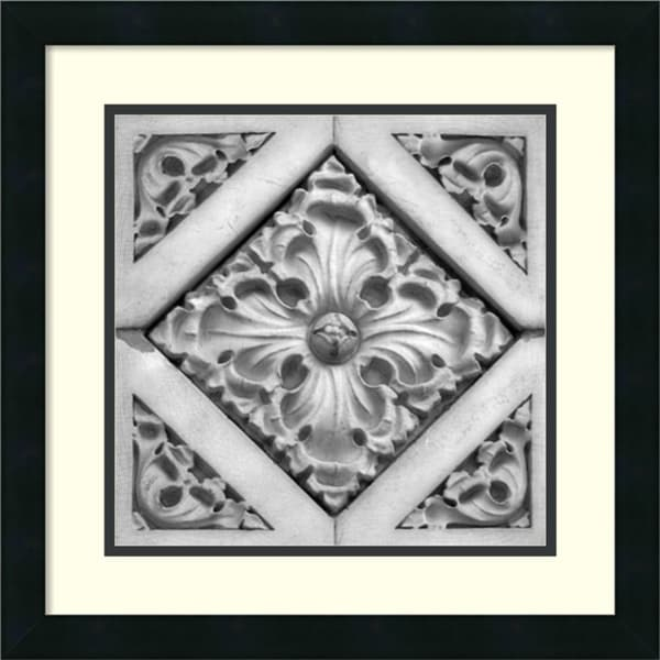 Ellen Fisch 'Architectural Detail No. 44' Framed Art Print