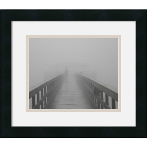 Gary Bydlo 'Into the Fog II' Framed Art Print