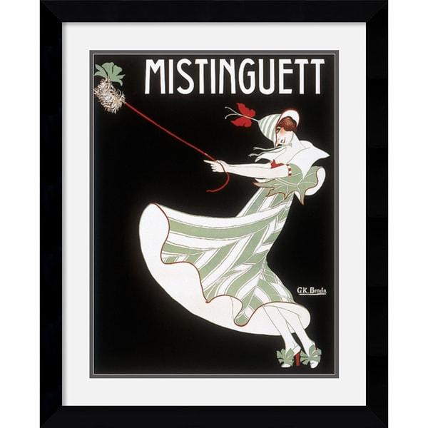 Georges Kugelmann Benda 'Mistinguett' Framed Art Print
