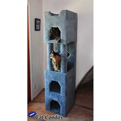 New Cat Condos 6-foot Cat Tower