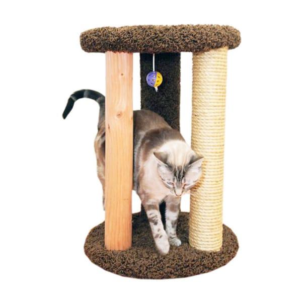 New Cat Condos Round Multi-scratcher