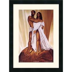 Wak Kevin A. Williams 'Power of Love' Framed Art Print