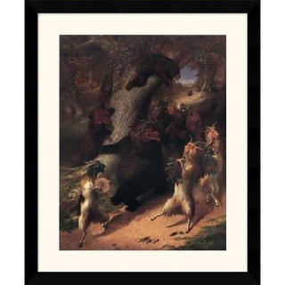 William Beard 'The March of Silenus' Framed Art Print