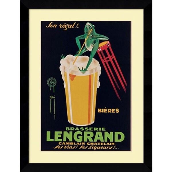 G. Piana 'Lengrand Brewery' Framed Art Print