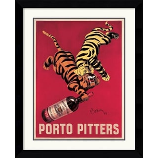 Leonetto Cappiello 'Porto Pitters' Framed Art Print