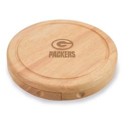 Picnic Time Green Bay Packers Brie Cheese Board Set