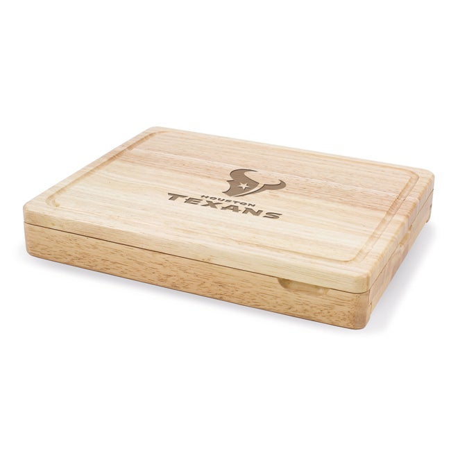 Picnic Time Houston Texans Asiago Folding Cutting Board