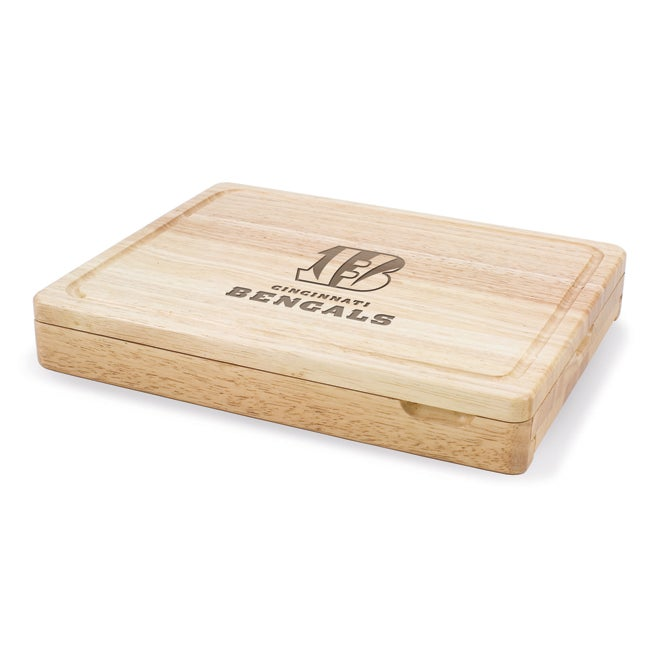 Picnic Time Cincinnati Bengals Asiago Folding Cutting Board