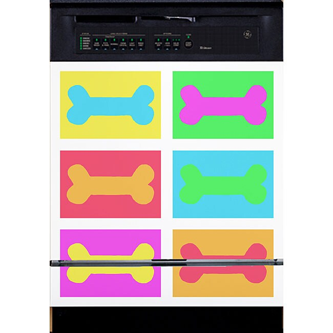 Appliance Art 'Pop Art Bone' Dishwasher Cover
