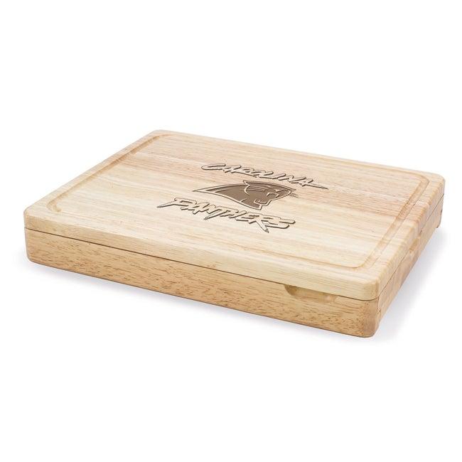 Picnic Time Carolina Panthers Asiago Cheese Board Set