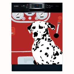 Appliance Art 'Fire House Dog' Dishwasher Cover