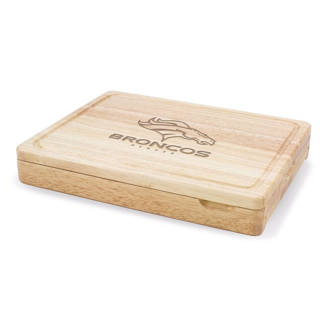 Picnic Time Denver Broncos Asiago Folding Cutting Board