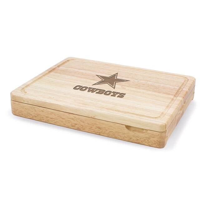 Picnic Time Dallas Cowboys Asiago Cutting Board