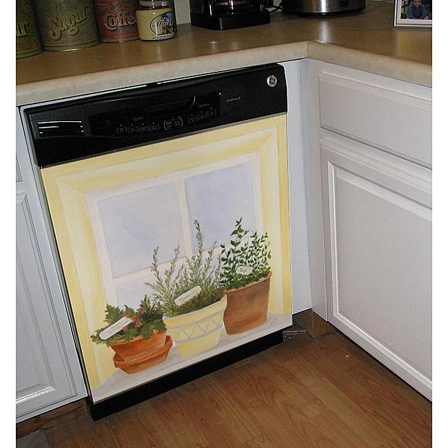 Appliance Art 'Herbs in Window' Dishwasher Cover
