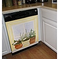 Appliance Art 'Herbs in Window' Dishwasher Cover