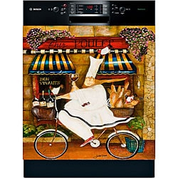 Appliance Art 'Chef in Paris' Dishwasher Cover